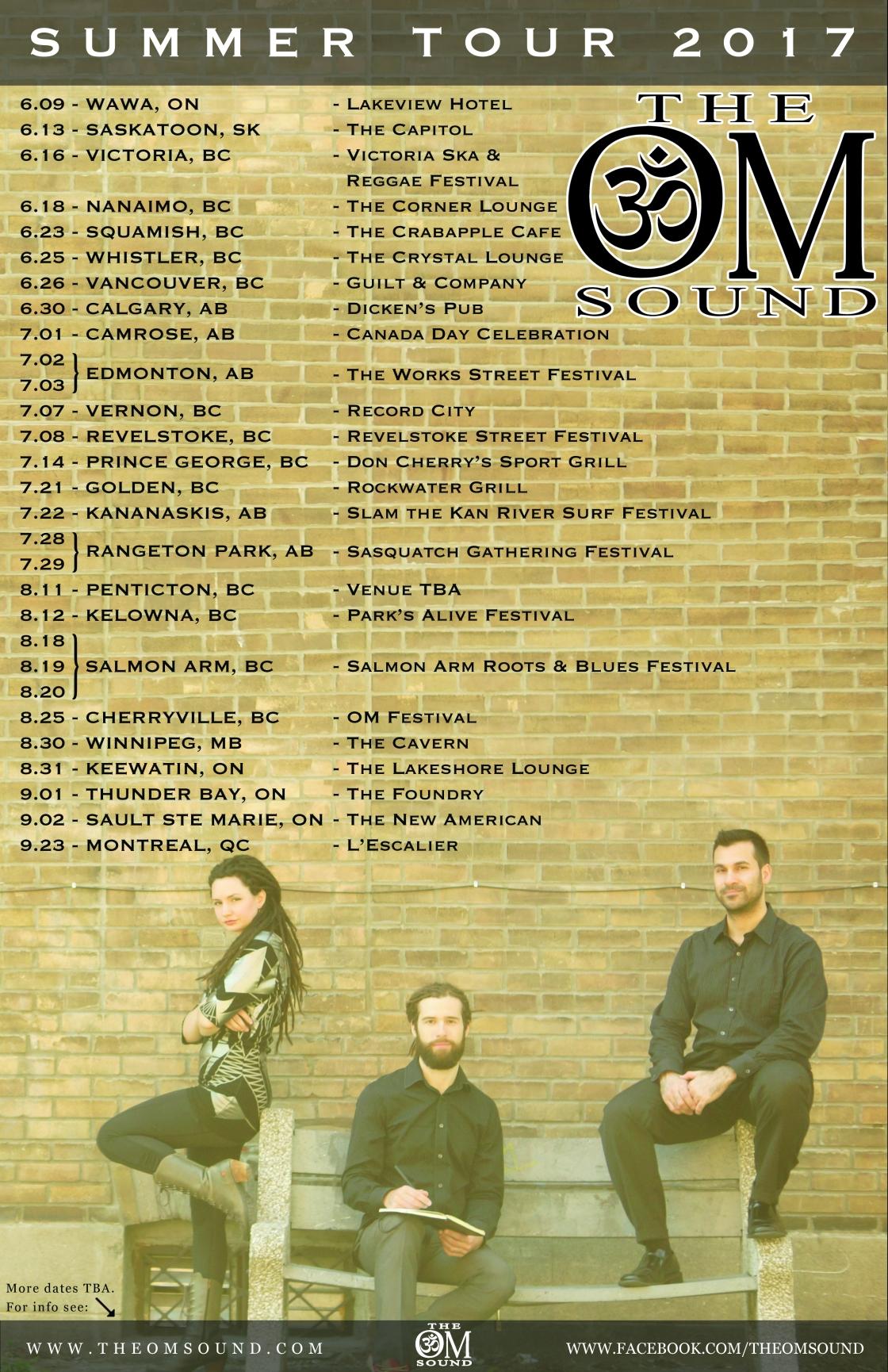 Summer Tour Poster 11x17
